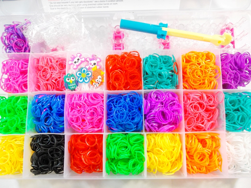 Willhaben Gartenmobel Kinder : Dettagli su 4400 Rubber Band Elastici Loom Bands mega set con cornice