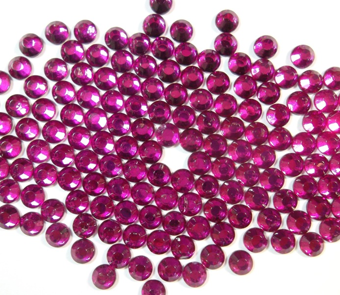hotfix strasssteine glas fuchsia strass 2880stk rhinestones 4mm ss16 438 ebay. Black Bedroom Furniture Sets. Home Design Ideas