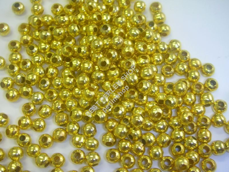 2mm-500-Zwischenteil-Spacer-Metallperlen-GOLD-M216