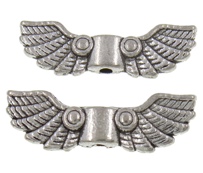 Perline metallo ala metallo perline best spacer argento for Creativ bastelkatalog