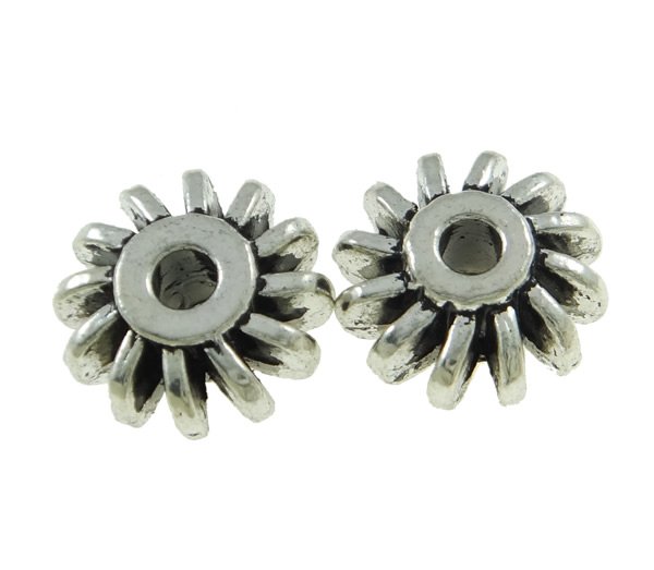 25 metallo perline distanziatore tinker rondelle 12mm argento anticato best f166 ebay. Black Bedroom Furniture Sets. Home Design Ideas