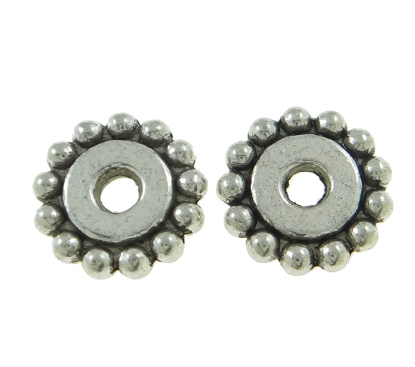 15 perline metallo con pacer disco 12mm argento anticato for Creativ bastelkatalog