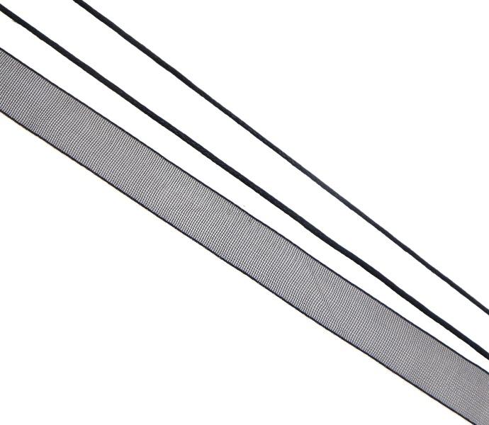 20 m Nastro di velluto grigio argento 6mm dekoband ...