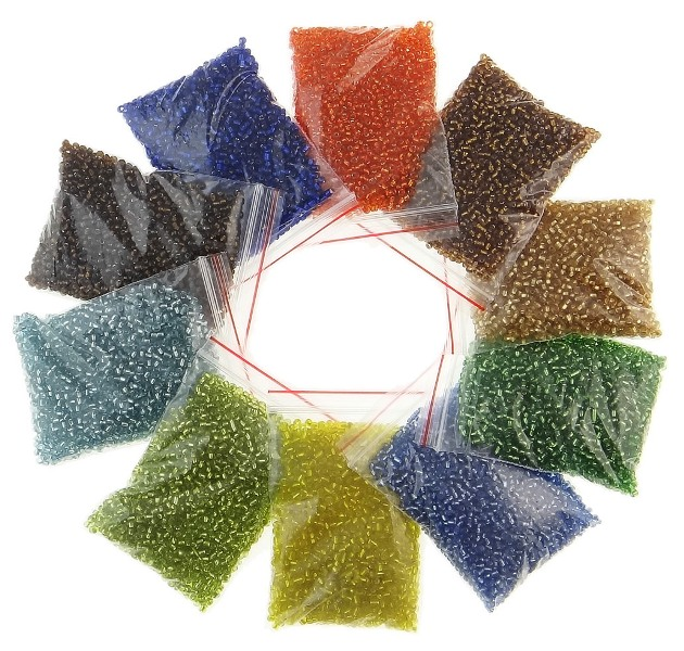 perlenbox perlen box sortierbox mit 16 dosen bastelzubeh r basteln beadsbox b15 ebay. Black Bedroom Furniture Sets. Home Design Ideas