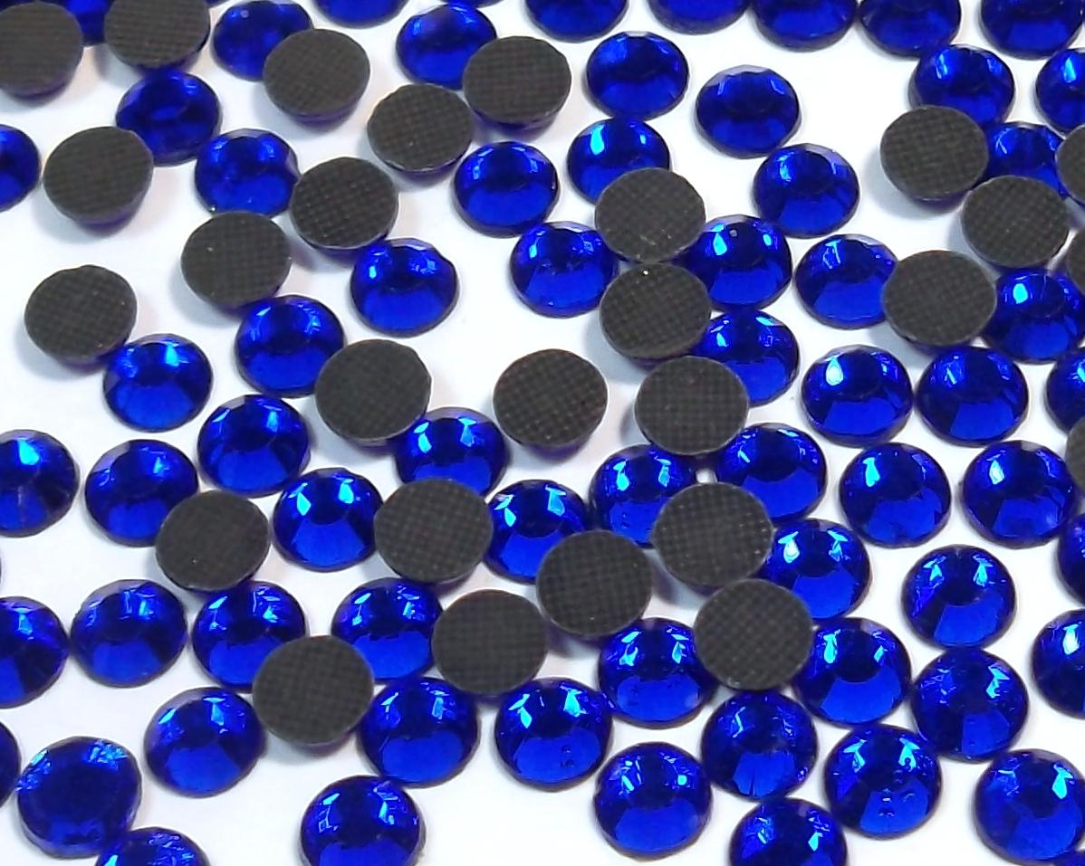5760 Hotfix Strasssteine 4mm Cobalt Blau Strass B-WARE zum selbst leben BEST