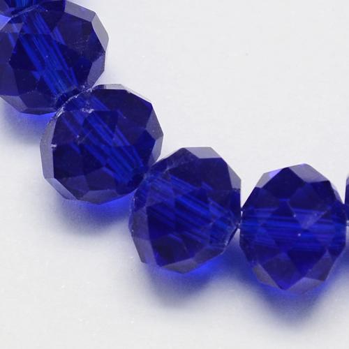20 Glasperlen 8mm Rondell Emerald Grün Tschechisch Kristall Perlen BEST X196
